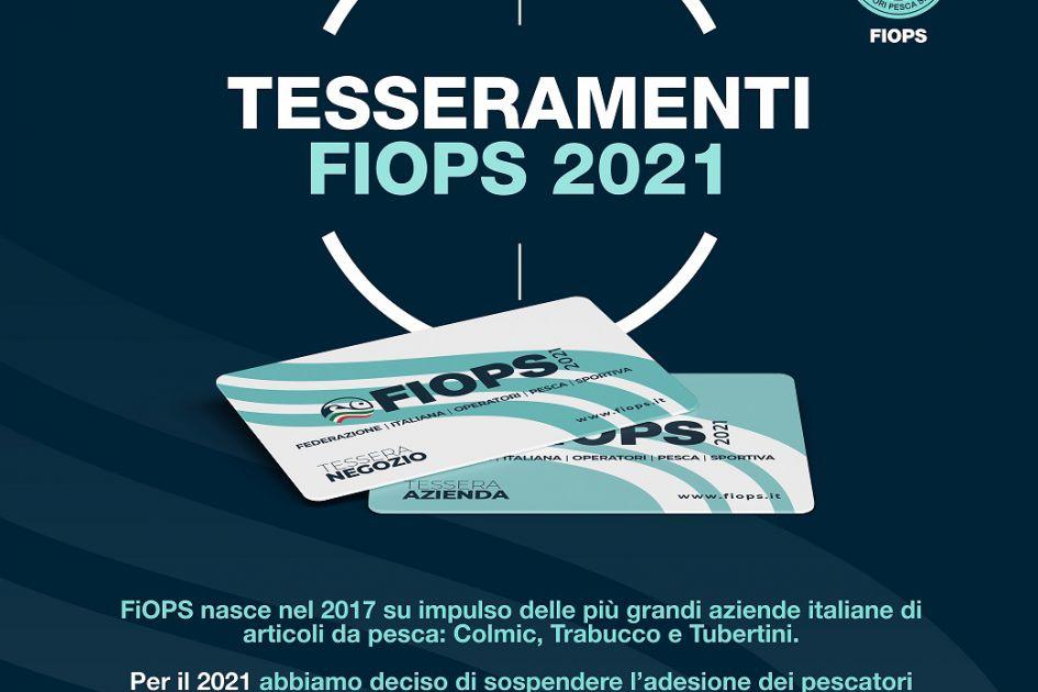 TESSERAMENTO FIOPS 2021